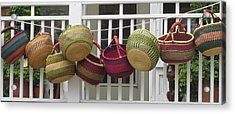 Acrylic Print featuring the photograph Roanoke Baskets by Cathy Lindsey