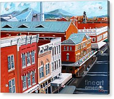Roanoke City Market Acrylic Print by Todd Bandy