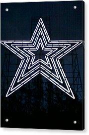 Roanoke Star By Angelia Clay Acrylic Print