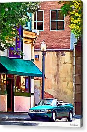 Roanoke Va - On Salem Avenue Acrylic Print by Susan Savad