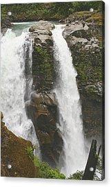 Roaring Falls Acrylic Print by Jim Gillen