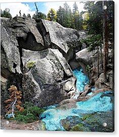 Roaring Fork Acrylic Print by Ric Soulen