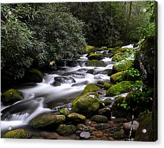 Roaring Fork Acrylic Print by Frozen in Time Fine Art Photography