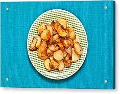 Roast Potatoes Acrylic Print by Tom Gowanlock