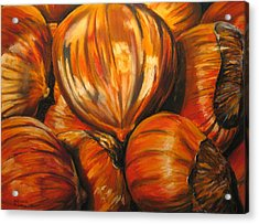 Roasting Chestnuts Acrylic Print