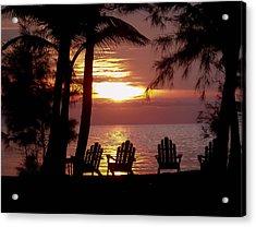 Roatan Sunrise Acrylic Print