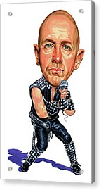 Rob Halford Acrylic Print by Art