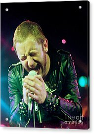 Rob Halford Of Judas Priest Without Flames Effect- Warfield Theater During British Steel-unreleased  Acrylic Print