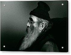 Rob Profile Redux Duotone Acrylic Print