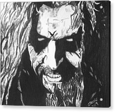 Rob Zombie Acrylic Print by Jeremy Moore