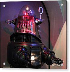 Acrylic Print featuring the photograph Robby The Robot 1956 by Cynthia Snyder