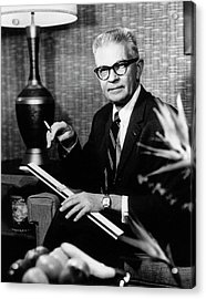 Robert Allan Phillips Acrylic Print by National Library Of Medicine