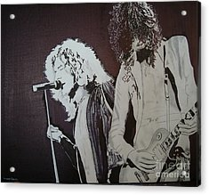 Robert And Jimmy Acrylic Print