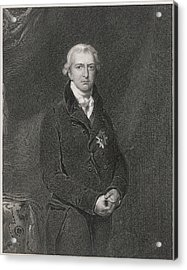 Robert Banks Jenkinson (1770-1828) Acrylic Print by Mary Evans Picture Library