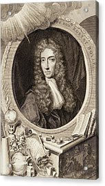 Robert Boyle Acrylic Print