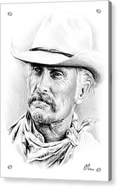 Robert Duvall Acrylic Print by Andrew Read