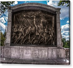Robert Gould Shaw Memorial On Boston Common Acrylic Print