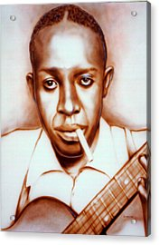 Robert Johnson Acrylic Print