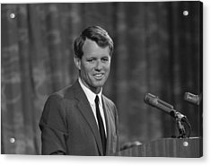 Robert Kennedy Acrylic Print by War Is Hell Store