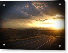Robert Melvin - Fine Art Photography - Arizona Sunset Acrylic Print
