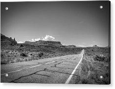 Robert Melvin - Fine Art Photography - Highway 128 Acrylic Print