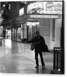 Robert Melvin - Fine Art Photography - Sin City - Where You From Acrylic Print