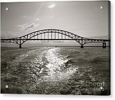 Robert Moses Bridge Acrylic Print