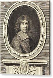 Robert Nanteuil French, 1623 - 1678, Cardinal De Bouillon Acrylic Print