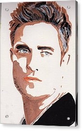 Robert Pattinson 144 Acrylic Print
