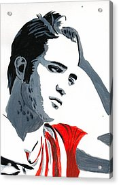 Robert Pattinson 77 Acrylic Print