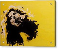 Robert Plant Acrylic Print by Matt Burke