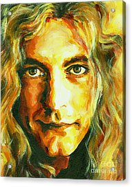 Robert Plant. The Enchanter Acrylic Print
