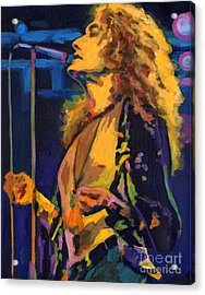 Robert Plant. Kashmir Acrylic Print