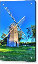 Robert Sherman Windmill Acrylic Print