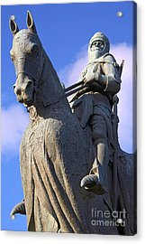 Robert The Bruce King Of Scots  Acrylic Print by Craig B