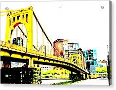 Roberto Clemente Bridge Acrylic Print