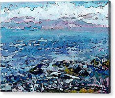 Roberts Creek Beach Acrylic Print