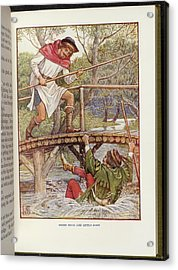 Robin Hood And Little John Acrylic Print by British Library
