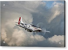 Robin Olds Scat Vll Acrylic Print by Peter Chilelli