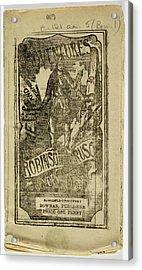 Robinson Crusoe Acrylic Print by British Library