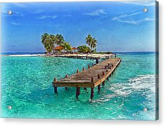 Robinson Island Acrylic Print