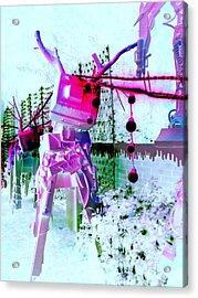 Robo Reindeer Acrylic Print by Randall Weidner