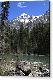 Robson River - Canada Acrylic Print by Phil Banks