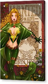 Robyn Hood 03e Acrylic Print by Zenescope Entertainment