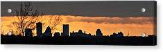 Rochester Skyline Acrylic Print