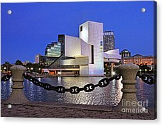 Rock And Roll Hall Of Fame - Cleveland Ohio - 1 Acrylic Print