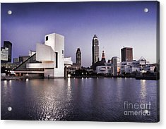 Rock And Roll Hall Of Fame - Cleveland Ohio - 2 Acrylic Print