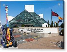 Rock And Roll Hall Of Fame IIi Acrylic Print