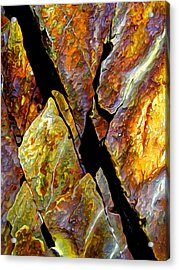Rock Art 17 Acrylic Print by ABeautifulSky Photography