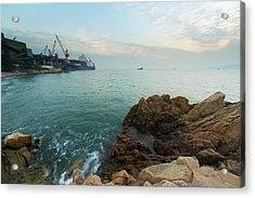 Rock Bay Acrylic Print